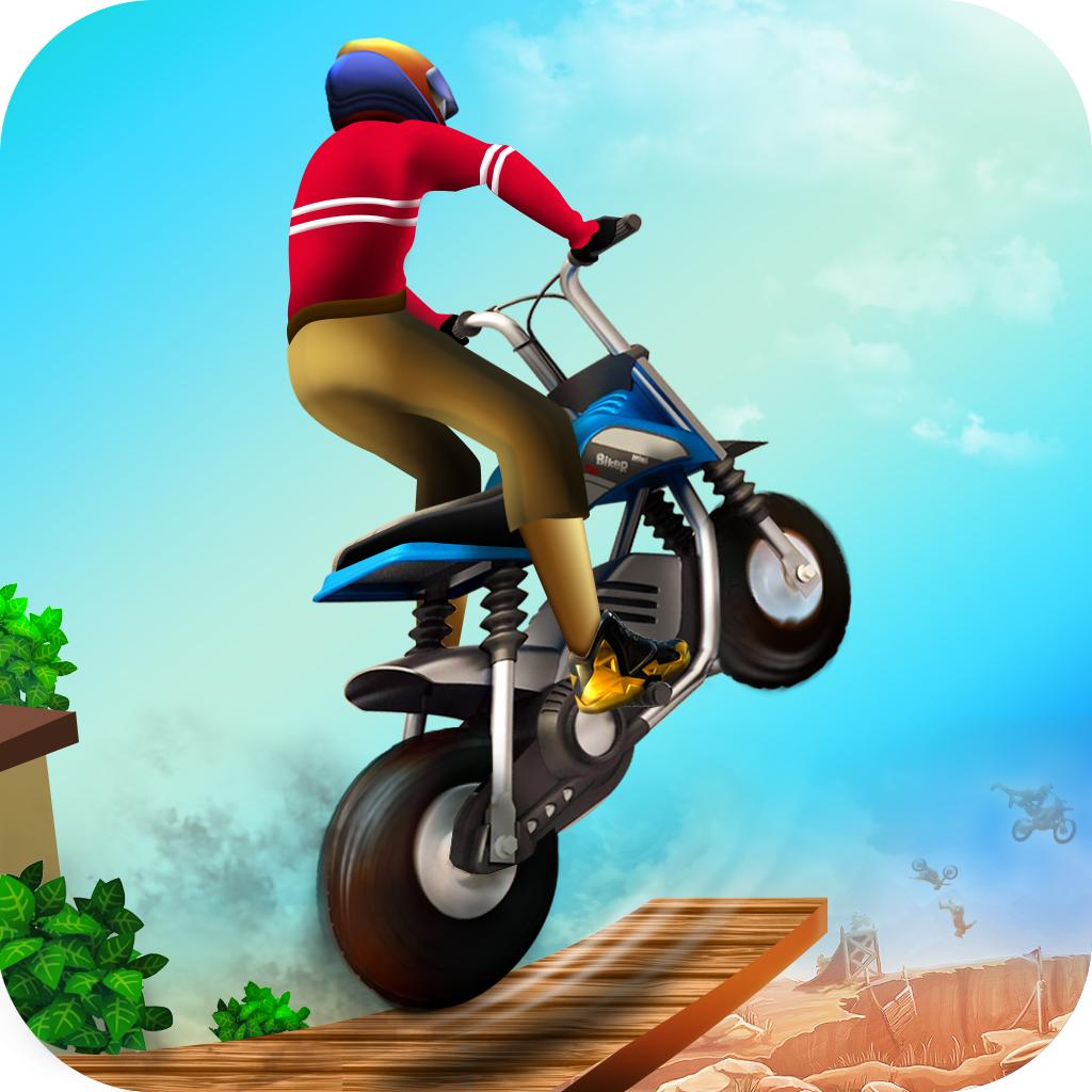 玩特技摩托真的好伤啊:《单车骑士》